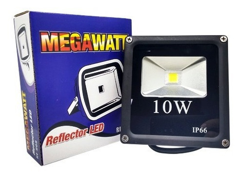 reflector led 10w verde megawatt rf-008 (u.e.:40)