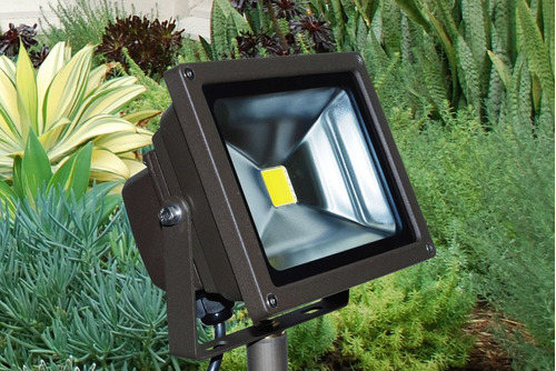 reflector led 20w blanco fijo para exterior proteccion ip 66