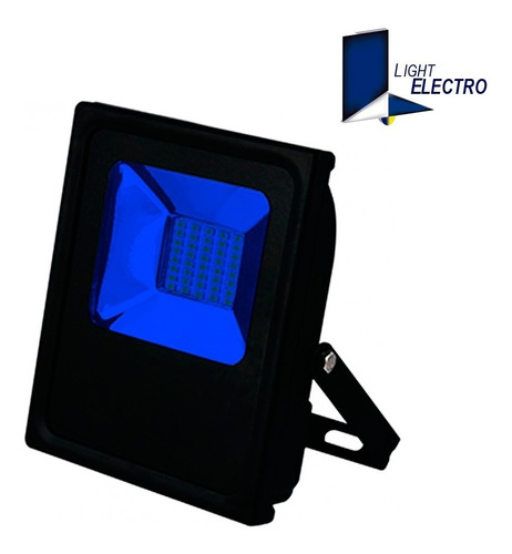 reflector led 20w color fijo (rojo, amarillo)
