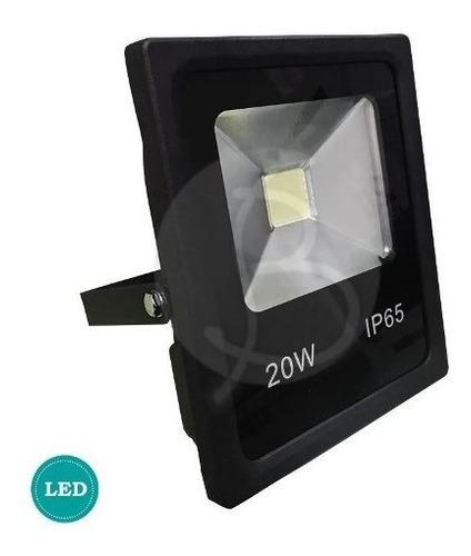 reflector led 20w eficiencia a extrafino 2 años de garantía