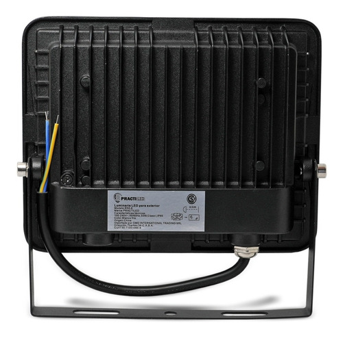 reflector led 50w exterior 3750 lúmenes premium con soporte