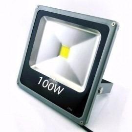 reflector led 50w exterior ultraslim 110/220v blanco+50000hs