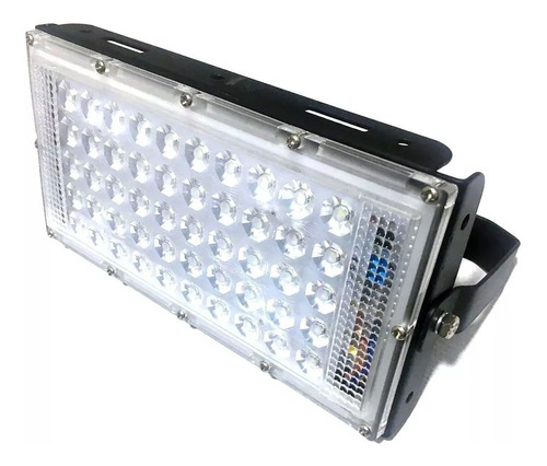 reflector led 50w ip65 luz potente brillante luminario