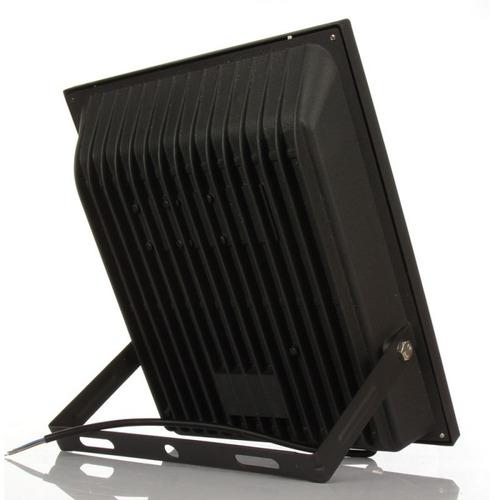 reflector led 50w luz calida aluminio calidad premium ip65