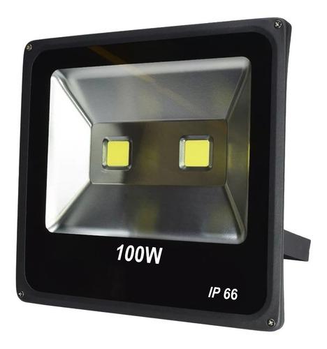 reflector led blanco 100w led alta potencia ext i canchas