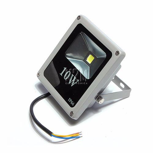 reflector led blanco 10w bajo consumo alta potencia exterior