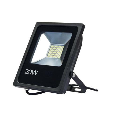 reflector led blanco 20w bajo consumo alta potencia exterior