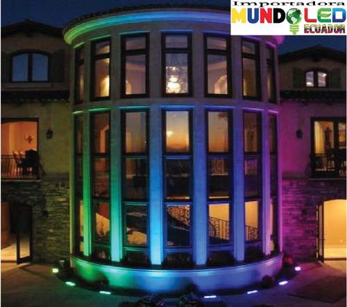 reflector led colores- rgb + control exterior desde 10 w!