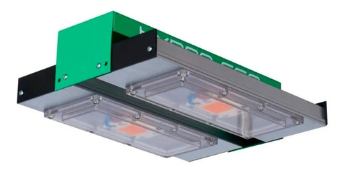 reflector led cultivo indoor alto full espectr hydro 100w pr