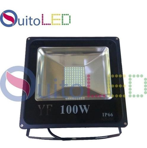reflector led de 100w luz blanca bajo consumo -quitoled