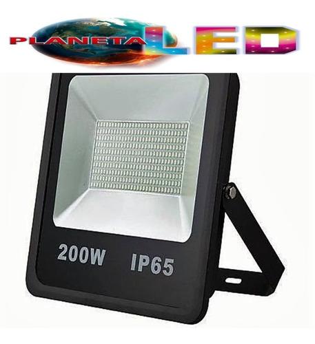 reflector led de 200w alta potencia y bajo consumo electrico