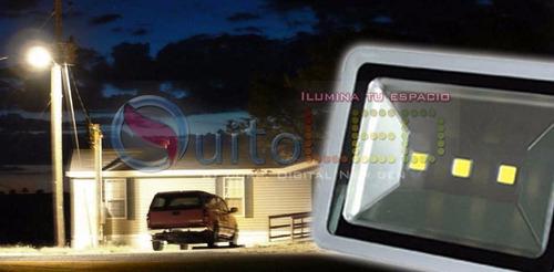 reflector led exterior 200w - ip65 - 110v  - 220v - blanco
