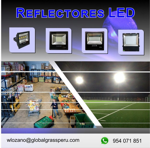 reflector led luminaria led reflectores led