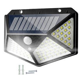 Reflector Led Panel Solar Sensor 3 Funciones 100 Led Frio