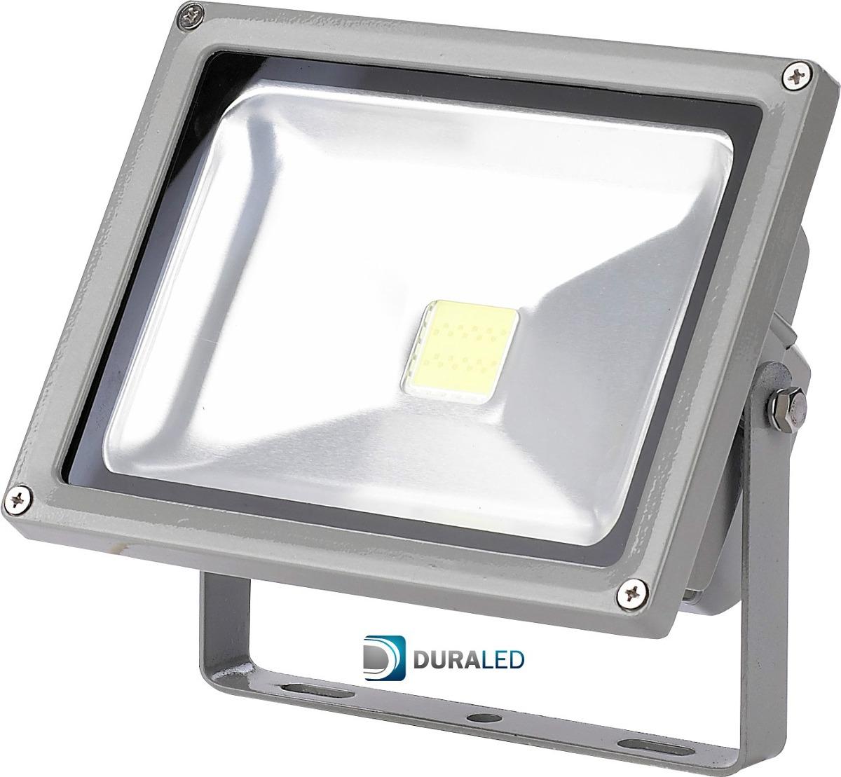 Reflector led para exterior 20w duraled 1 a o de garantia for Lamparas de led para exteriores