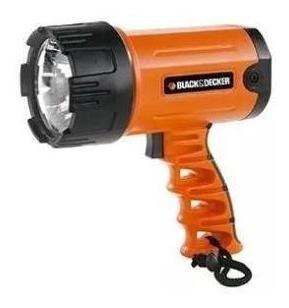 reflector led recargable black + decker