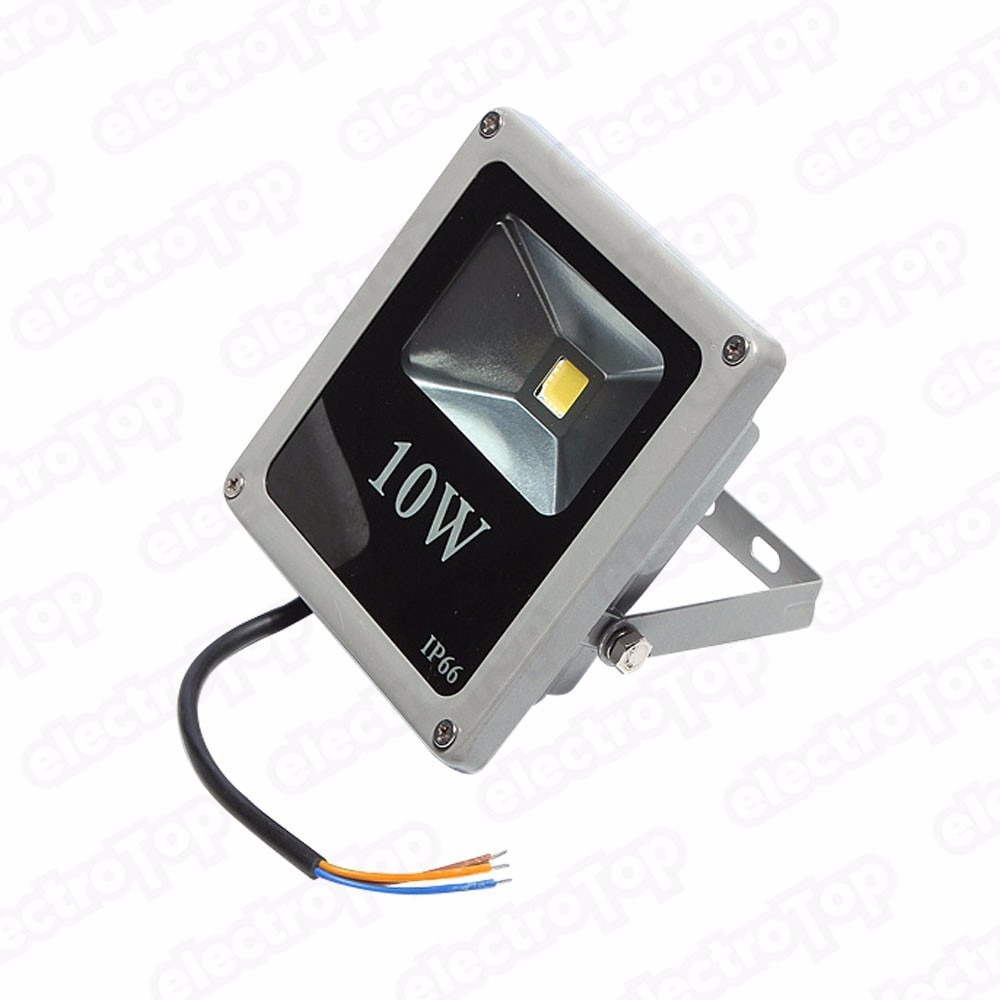 Reflector led rgb 10 watts interior y exterior 16 colores for Que significa exterior