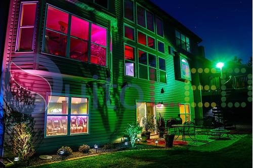 reflector led rgb 100w exterior control remoto 16 colores