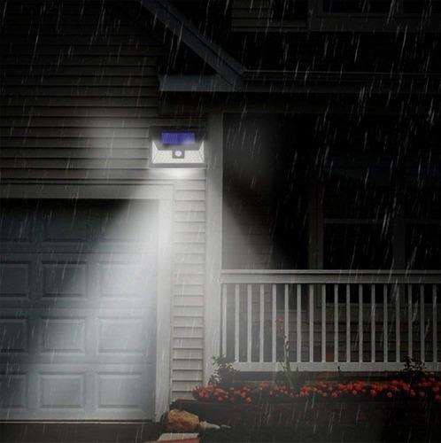reflector led sensor movimiento exterior 30w luz fria 220v