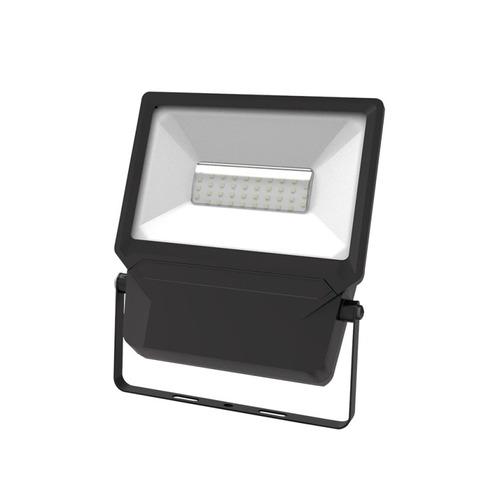 reflector led sobreponer 50w exterior luz calida illux