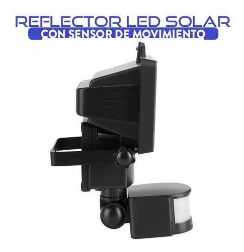 reflector led solar con sensor de movimiento