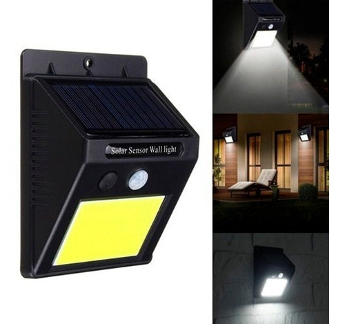reflector led solar panel sensor de fotocelula 4w lampara