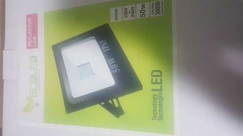 reflector lef 50 watts luz blanca