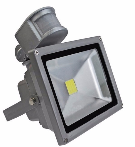 reflector luces led con sensor 10w