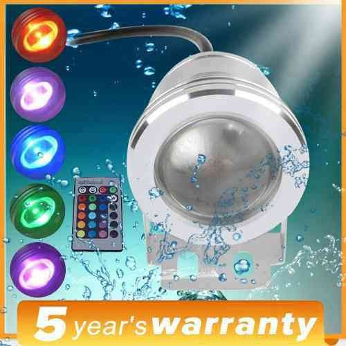 Reflector luz led multicolor luces rgb sumergible piscinas for Luces led piscina