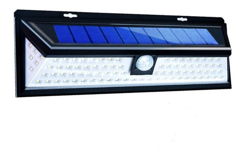 reflector luz solar 90 led sensor mov garages pack x10 un