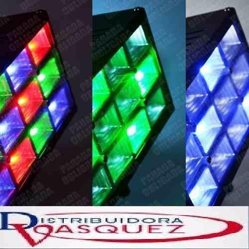 reflector multicolor flash para fiesta y discoteca