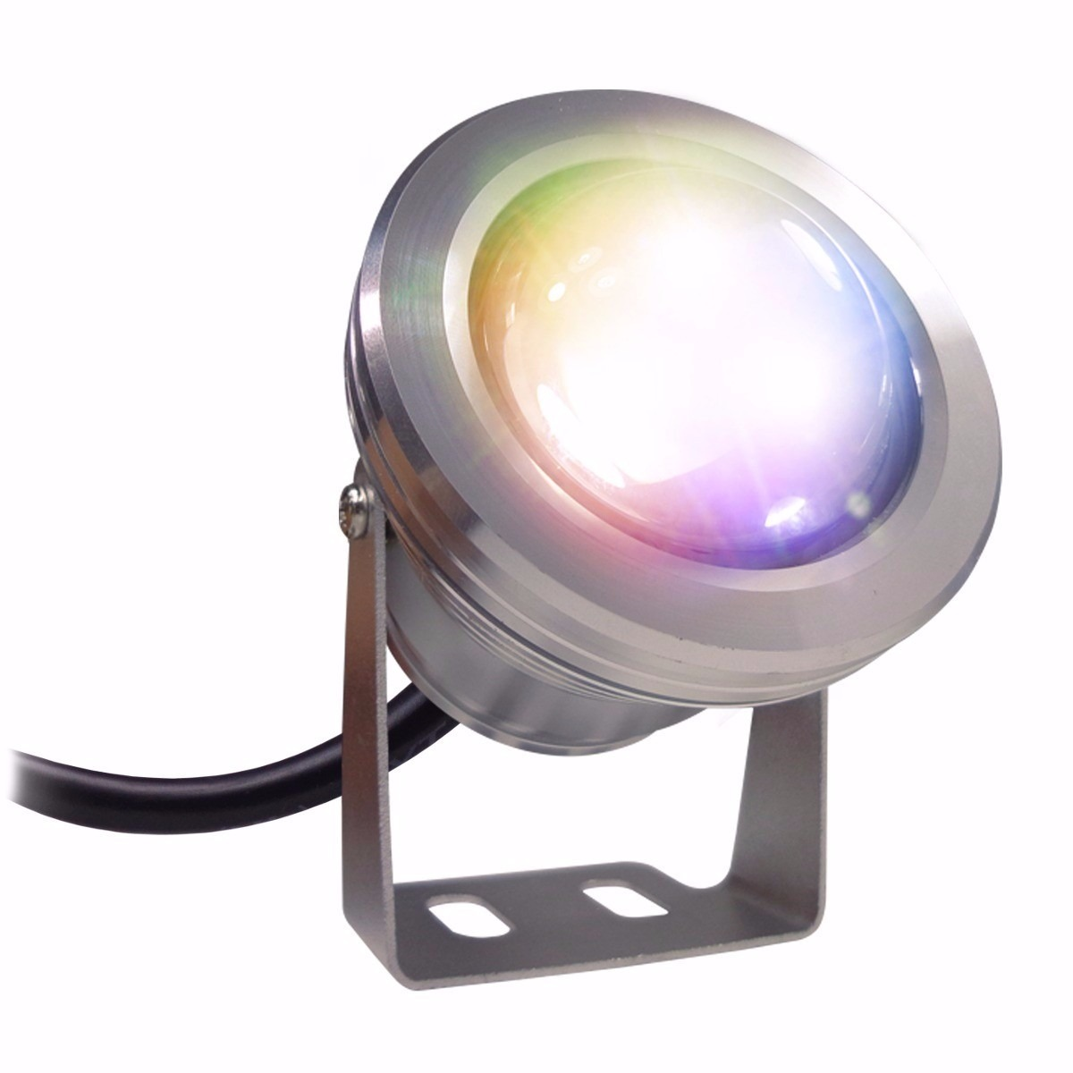Reflector led rgb 12v para jardin sumergible decoracion - Led para jardin ...
