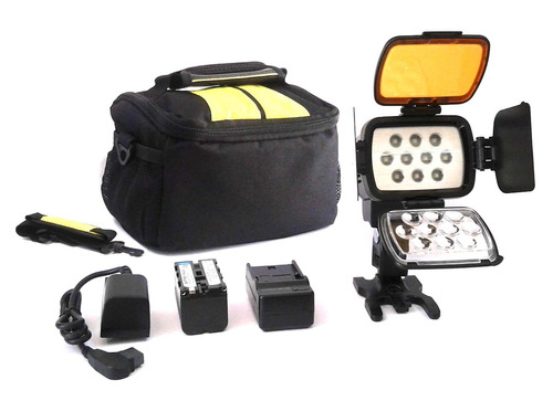 reflector profesional de luz led para video, potente, nuevo