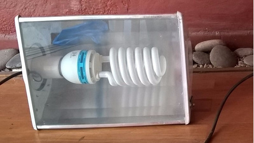 reflector - proyector exterior/interior c/lámpara b.c.100w