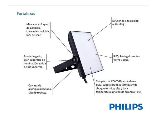 reflector proyector led philips 30w = 250w nuevo modelo 2018