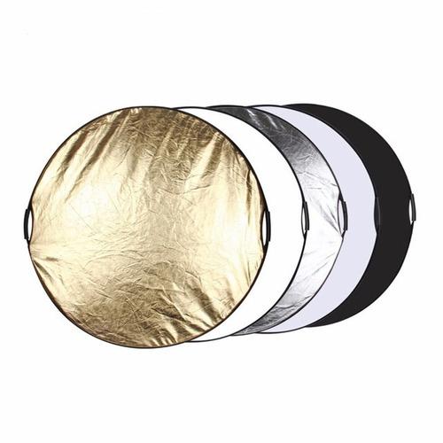 reflector  rebotador profesional p/  fotografía 5 en 1 110cm