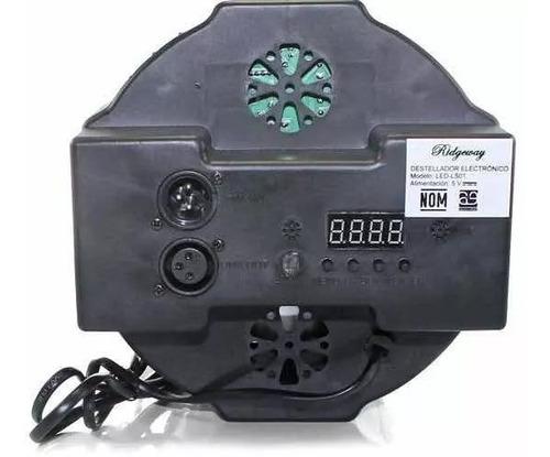 reflector rgb 18x1 cañon dmx autom audioritmico led estrobo
