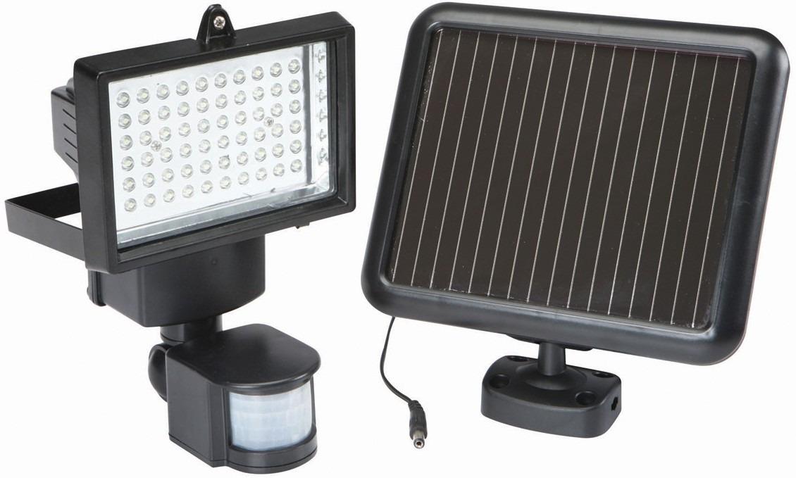 Reflector solar 60 leds lampara solar sensor movimiento en mercado libre for Lamparas de luz solar para interiores