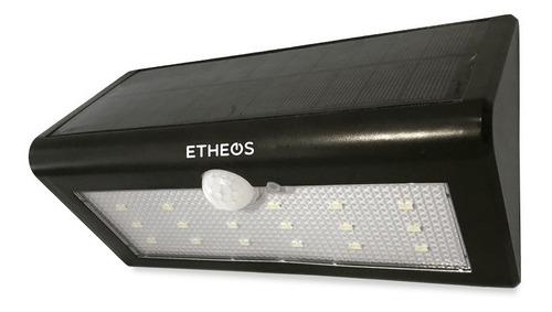 reflector solar etheos sensor movimiento 18 leds farol ext