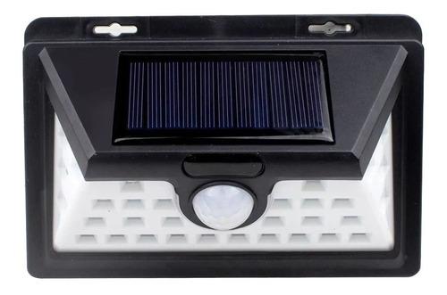reflector solar exterior fotocelula 32 led aplique lampara