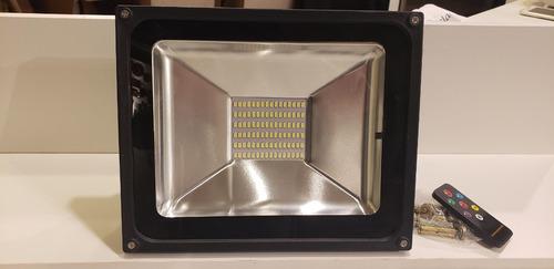 reflector solar floodligths jd1850 c/ control remoto