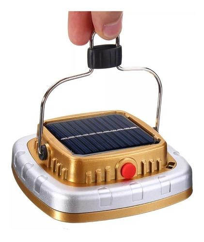 reflector solar recargable lampara camping