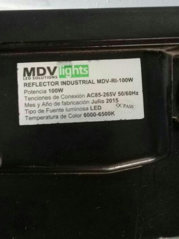 Mdv De reflectores mdv de 110w y philips de 220w 500 000 en mercado libre