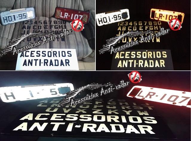 Refletivo Anti Radar Vinil Adesivo Pelicula Etiqueta Preto R 20