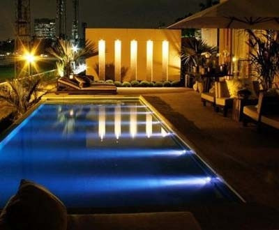 Refletor 72 led piscina ilumina o luz l mpada leds branco - Leds para piscinas ...
