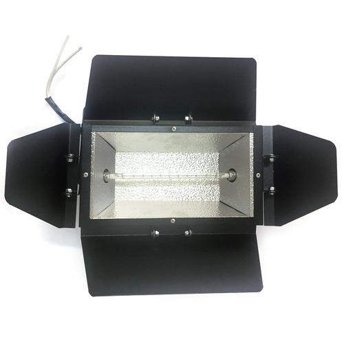 refletor colortran longo lamp 1000w 110v ou 220v foto video