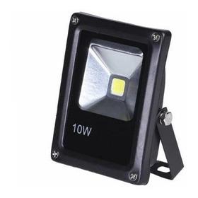 Refletor De Led Holofote Branco 10w 12v 24v Auto Veicular