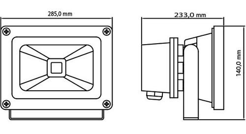 refletor holofote de led 50w ,branco frio/quente.