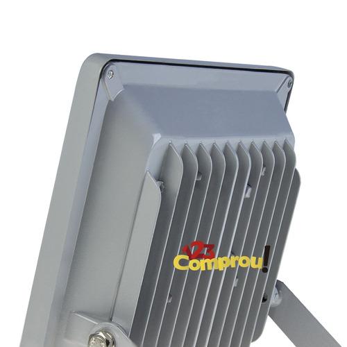refletor holofote led rgb 20w ip65 bivolt - frete grátis