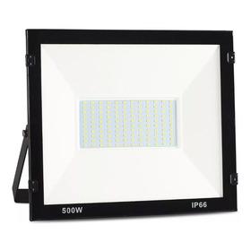 Refletor Holofote Ultra Thin Microled 500w 6500k Ip66